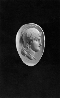 Intaglio of the Head of Athena