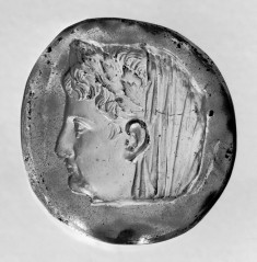 Cast of a Cameo with the Head of Emperor Augustus