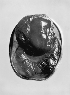 Cameo with Head of a Putto