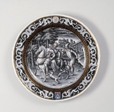 Plate with the Month of May