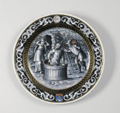 Plate with the Month of September
