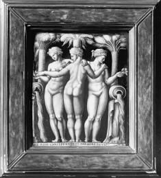 Plaque with the Three Graces