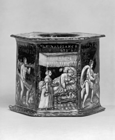 Salt Cellar with the Life of Hercules