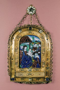Devotional Plaquette with the Adoration of the Magi