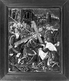 Plaque with Christ Carrying the Cross