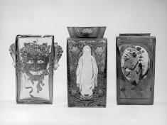 Vase with Buddhist Figure