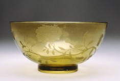Bowl with Design of Flowering Peony
