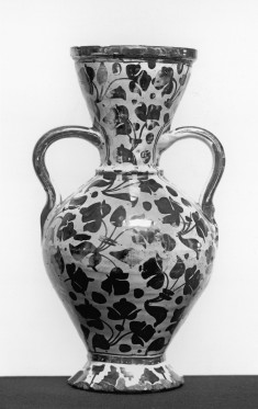 Vase with Leaf Pattern