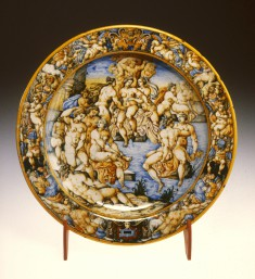 Dish with Diana and Her Nymphs Bathing