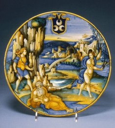 Bowl with Apollo and Daphne