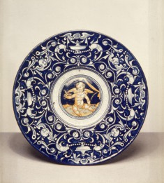 Plate with Cupid