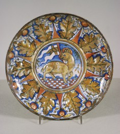 Dish with the Lamb of God