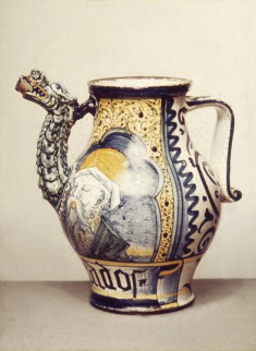 Spouted Apothecary Jar