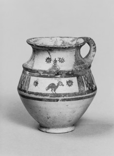 Jar with Birds, Rosettes, and Geometric Patterns
