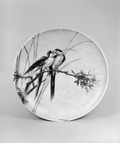 Plate with Parrots