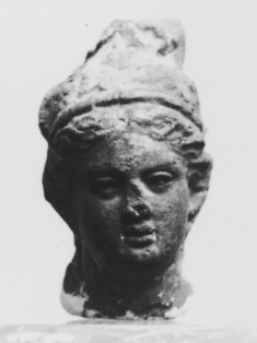 Head of a Woman with High Hair Knot