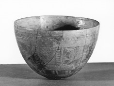 Bowl with Winged Griffins