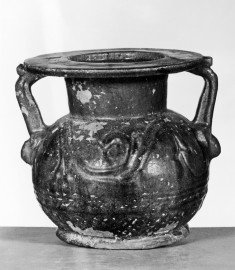 Neck Amphora with Tendril Decoration