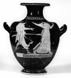 Kalpis with Youth with Spears