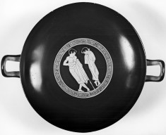 Kylix with a Youth and a Boy