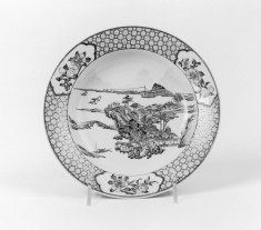 Dish with Landscape
