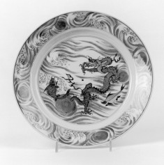 Plate with a Dragon