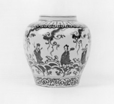 Jar with the Eight Immortals