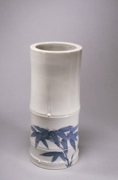 Vase in the Form of a Bamboo Stalk