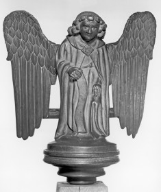 Statuette of the Evangelist Symbol of Matthew from a Lectern