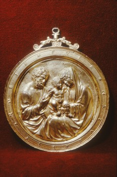 Devotional Plaque with the Holy Family