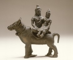 Shiva and Uma on the Bull Nandi