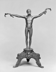 """Antique"" Candlestick in the Form of a Man"