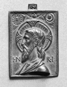 Plaquette with the Head of Christ