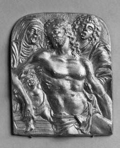 Devotional Plaque with the Dead Christ