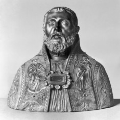 Reliquary in the Shape of the Bust of a Saint