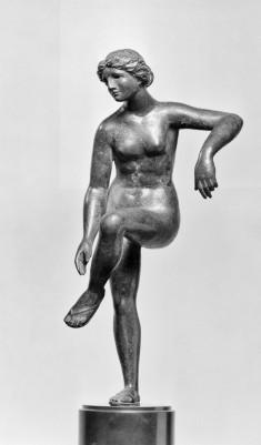 Venus Loosening Her Sandal