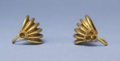 Pair of Basket-Shaped Hair Ornaments