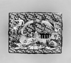 Snuffbox with Lovers in a Bower