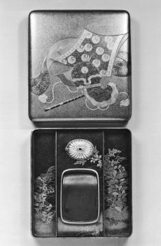 Box for Inkstone and Writing Implements (suzuri bako)