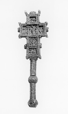 Hand Cross with Scenes from the Life of Christ