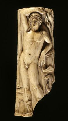 Plaque with Apollo