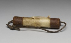 Prayer Scroll with Case