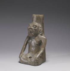 Figural Urn of a Masked Deity