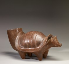 Armadillo Effigy Vessel