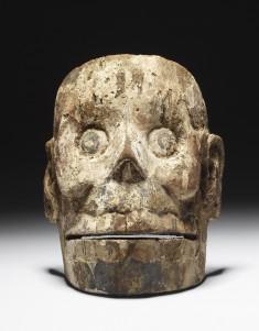 Mask of Mictlantecuhtli, Lord of the Underworld