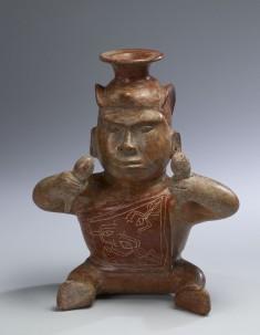 Dwarf-shaman Effigy Vessel