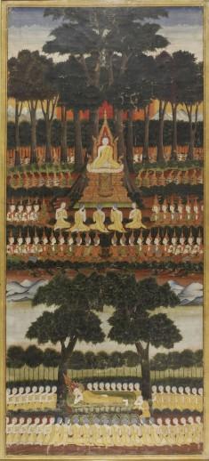 The First Sermon and Buddha's Parinibbana