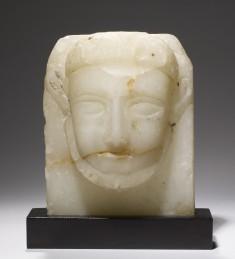 Head-Stela of a Man with a Full Beard