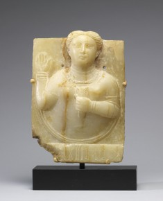 Stele with a Female Bust