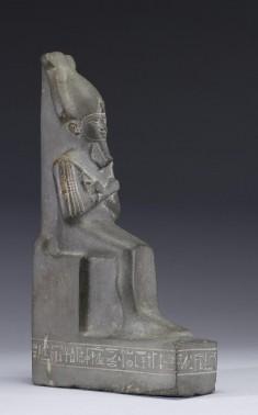 Statue of Osiris on a Throne